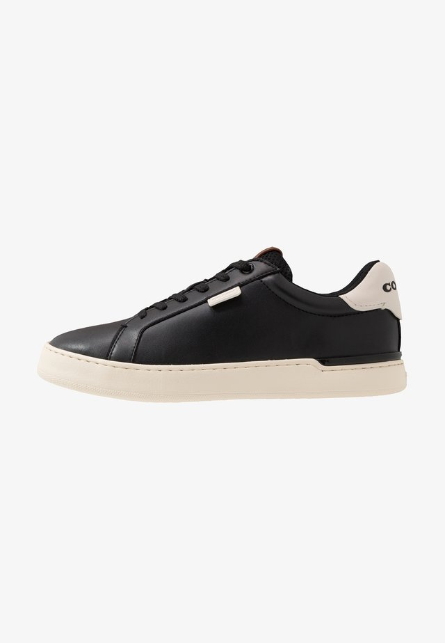 SIGNATURE TENNIS CUP SOLE - Joggesko - black/chalk