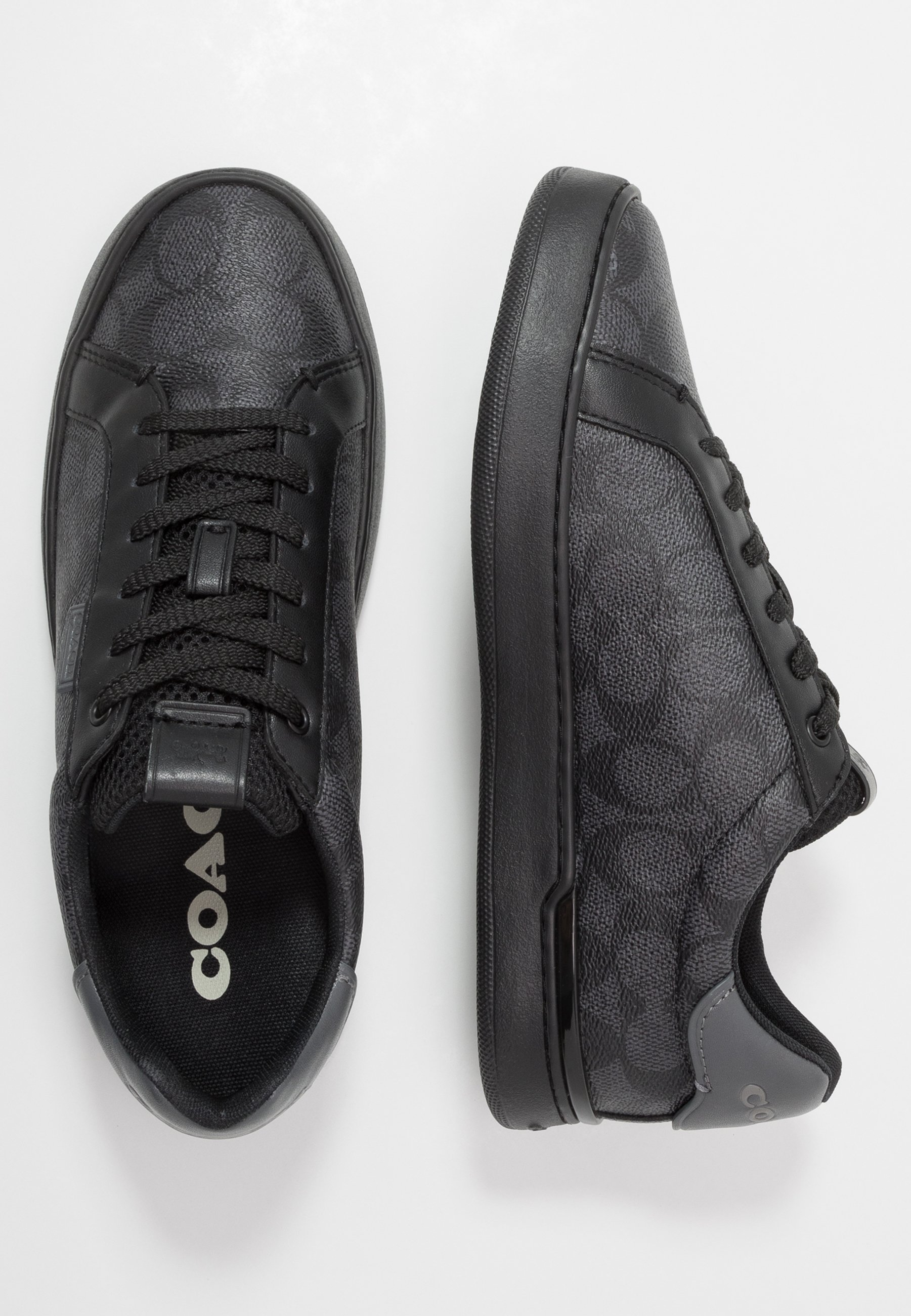 Coach SIGNATURE TENNIS CUP SOLE - Baskets basses - charcoal/grey