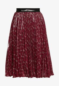 Coach - LUNAR NEW YEAR HORSE AND CARRIAGE PLEATED SKIRT - A-Linien-Rock - red - 3