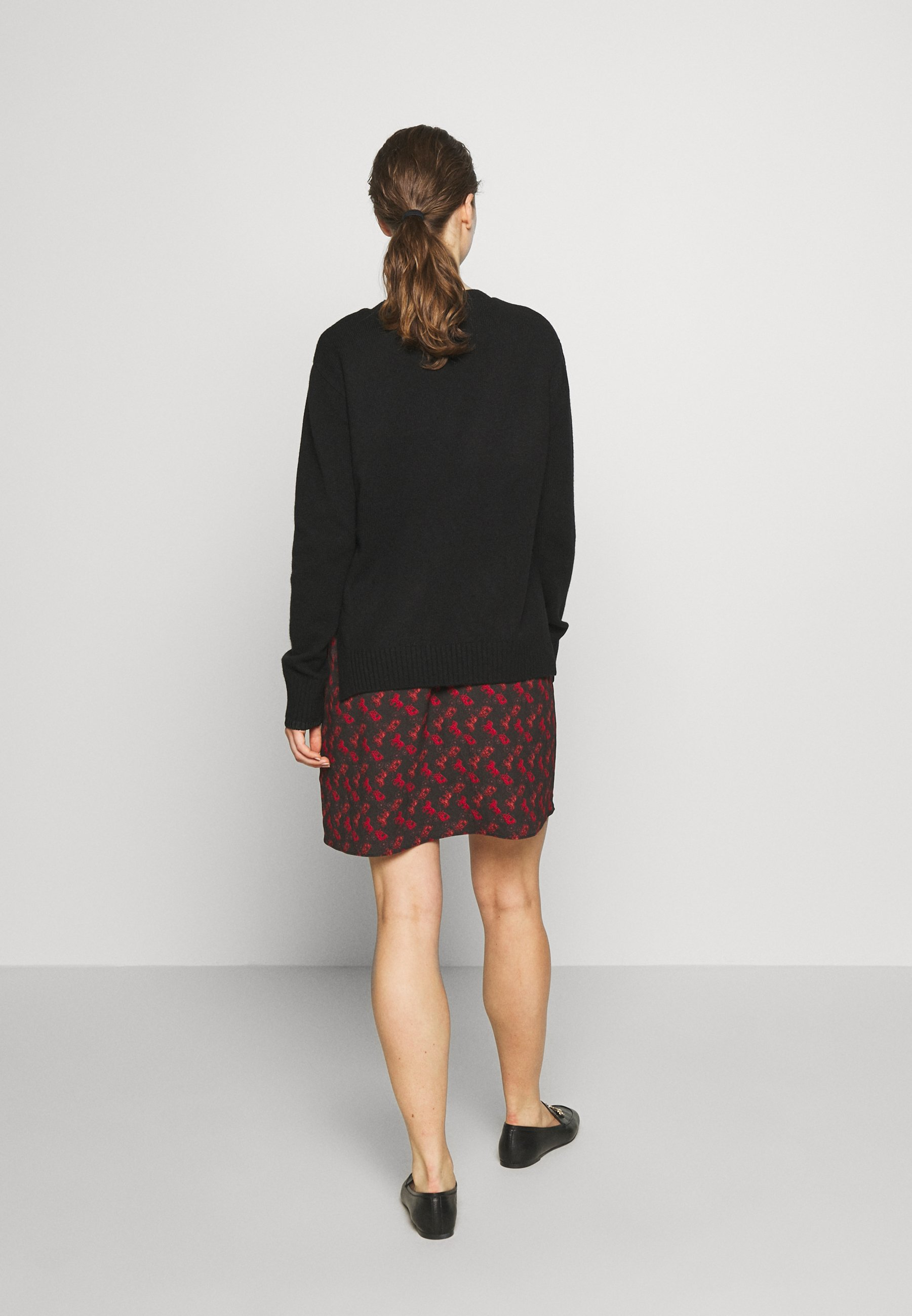 Coach Horse And Carriage Print Dress - Neulemekko Black