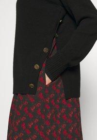 Coach - HORSE AND CARRIAGE PRINT DRESS - Gebreide jurk - black - 5