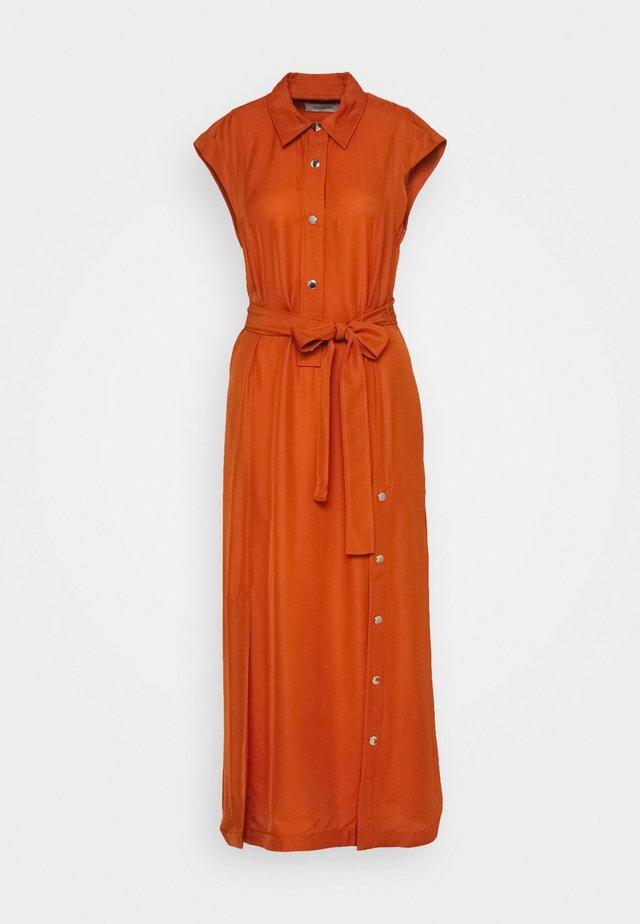 LONG SHIRT - Długa sukienka - tangerine