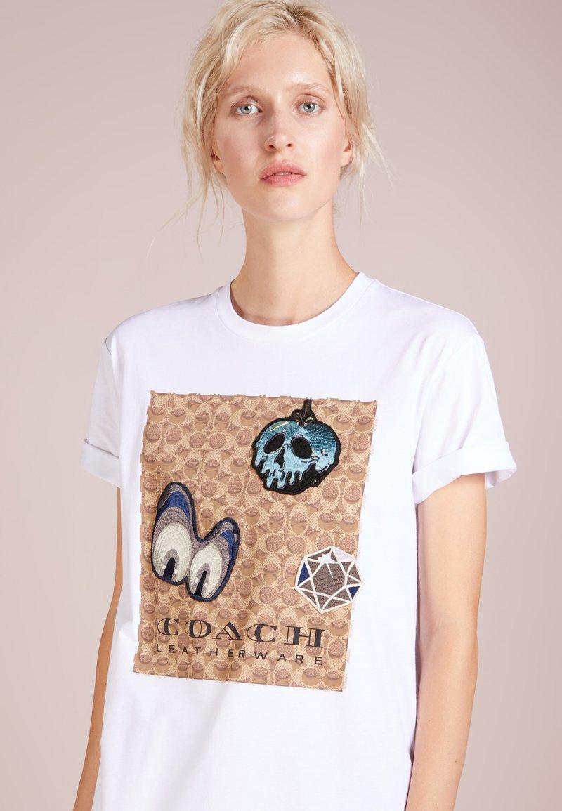 Coach - DISNEY SIGNATURE EYES - T-shirt print - white