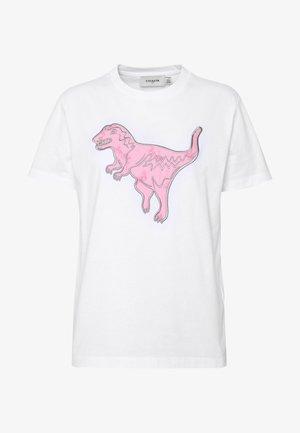 REXY DOT  - T-shirts print - white