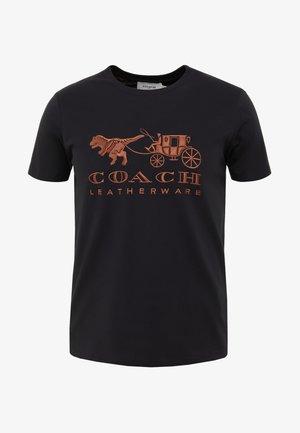 DARK DISNEY  - T-shirts print - black