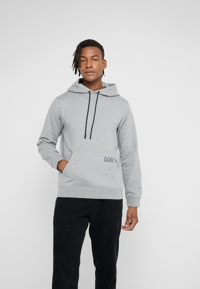 HOODIE - Jersey con capucha - heather grey