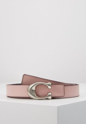SCULPTED C REVERSIBLE BELT - Vyö - aurora/midnight navy