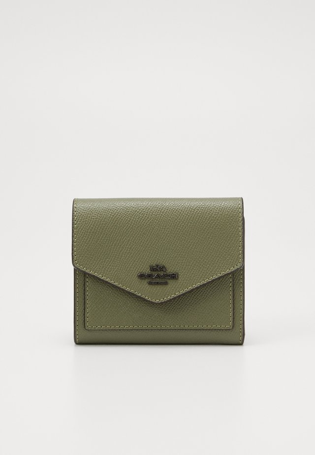 CROSSGRAIN LEATHER SMALL WALLET - Lommebok - light fern