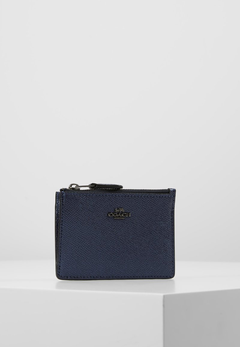 Coach - MINI ID SKINNY - Lommebok - metallic midnight navy