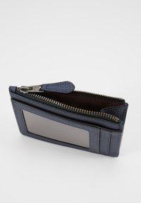 Coach - MINI ID SKINNY - Lommebok - metallic midnight navy - 5