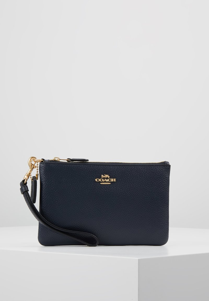 Coach - SMALL WRISTLET - Wallet - navy