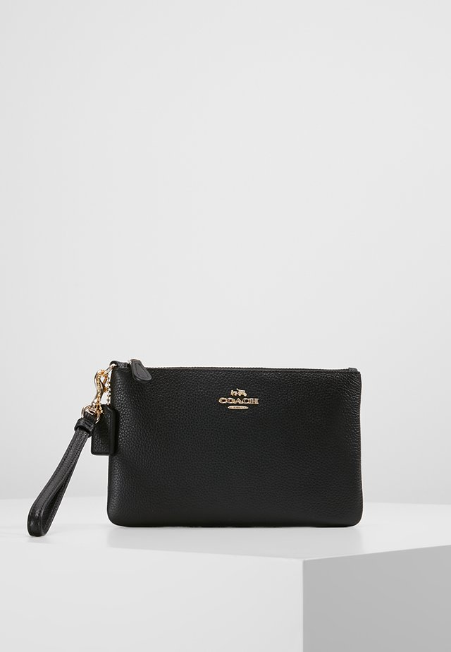SMALL WRISTLET - Plånbok - black