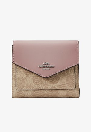 COLORBLOCK SIGNATURE SMALL WALLET - Wallet - sand aurora