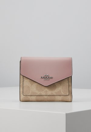 COLORBLOCK SIGNATURE SMALL WALLET - Lompakko - sand aurora
