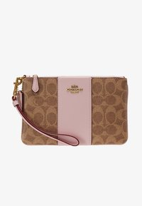 Coach - COATED SMALL WRISTLET - Wallet - tan blossom - 5