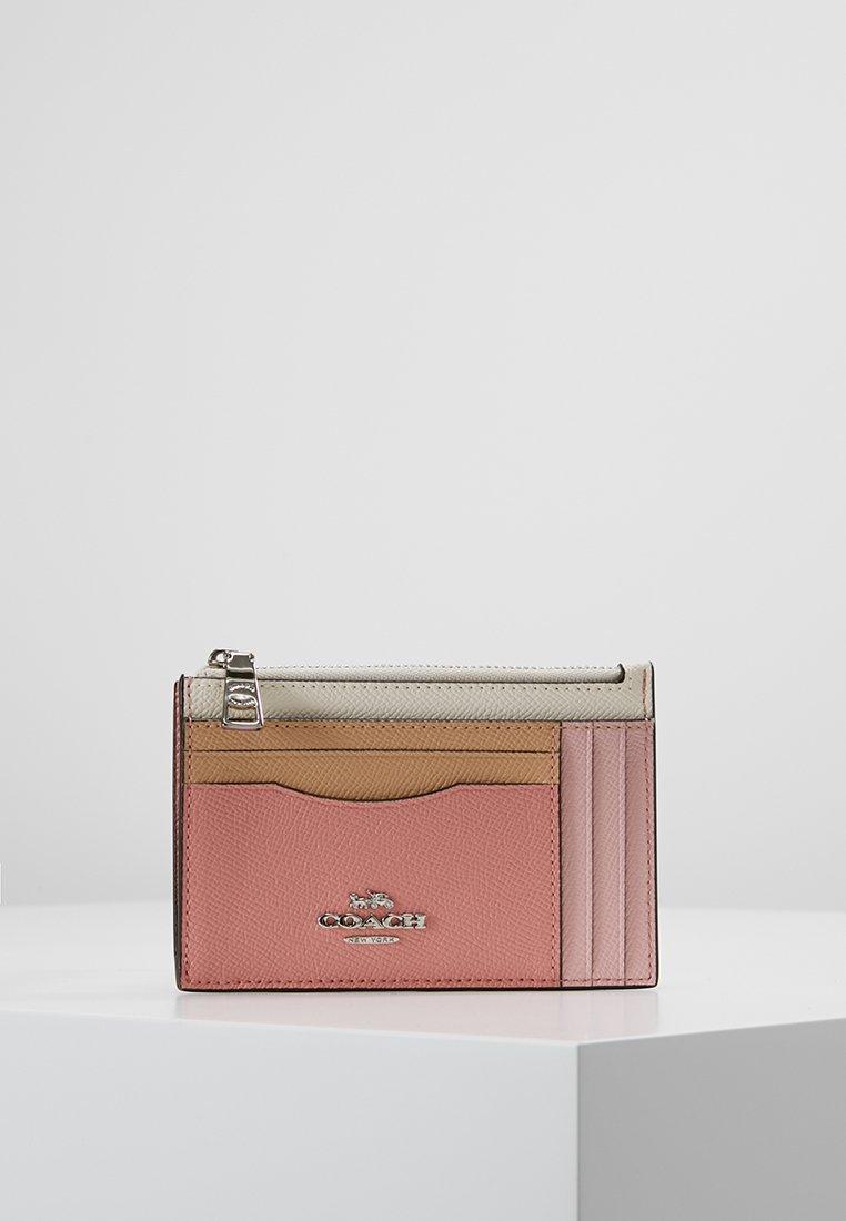 Coach - LARGE FLAT CARD CASE - Portemonnee - light blush multi