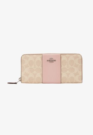 SIGNATURE SLIM ACCORDION ZIP - Punge - sand aurora