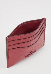 Coach - CROSSGRAIN FLAT CARD CASE - Portefeuille - dusty pink - 5