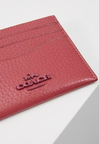 Coach - CROSSGRAIN FLAT CARD CASE - Portefeuille - dusty pink - 2