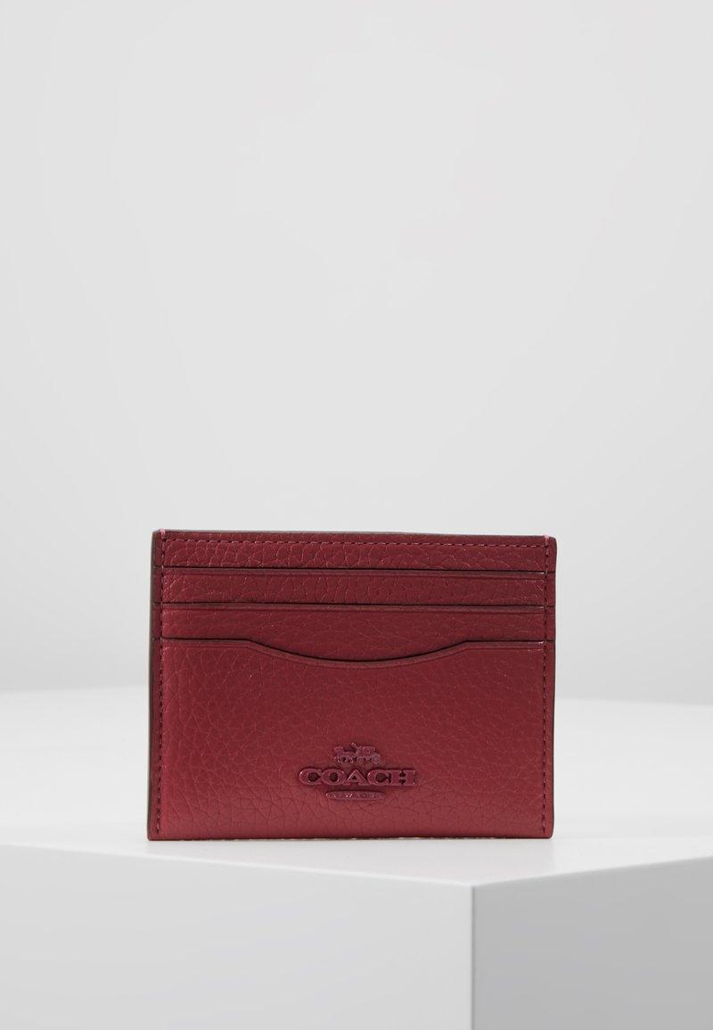 Coach - CROSSGRAIN FLAT CARD CASE - Portefeuille - dusty pink