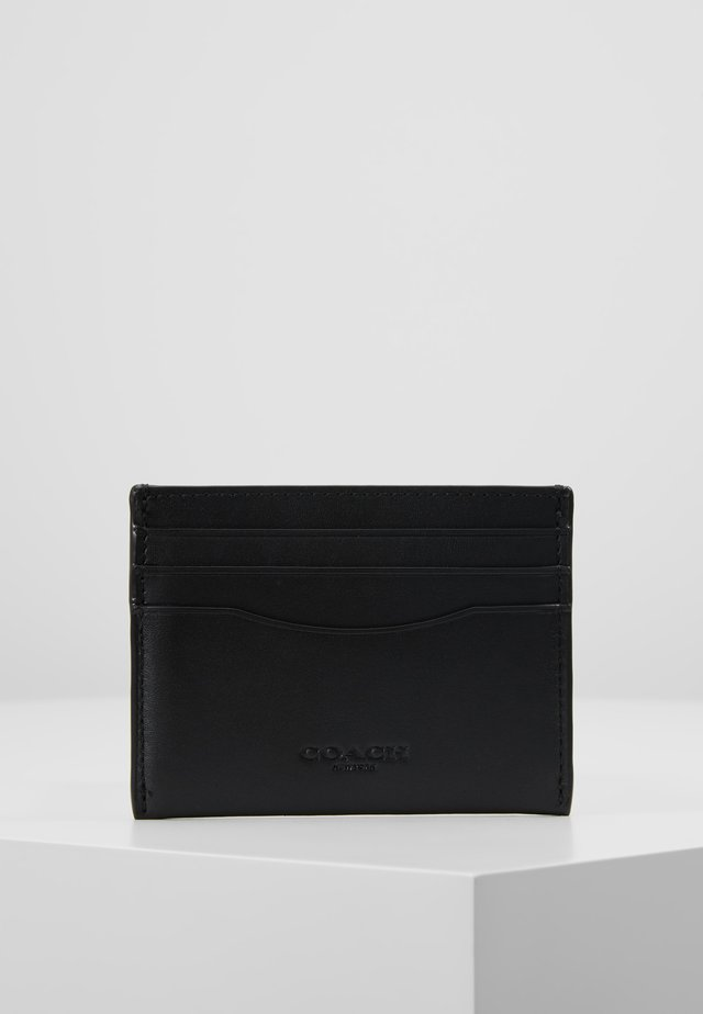 GLOVETAN FLAT CARD CASE - Plånbok - black