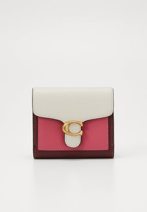 NEUTRAL BLOCKING POP TABBY SMALL WALLET - Punge - confetti pink