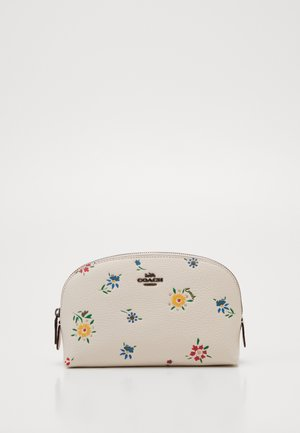 WILDFLOWER PRINT COSMETIC CASE - Wash bag - chalk