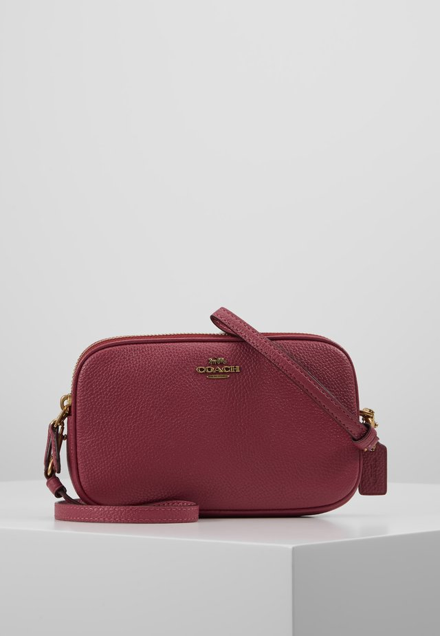 POLISHED PEBBLE SADIE CROSSBODY  - Across body bag - dusty pink