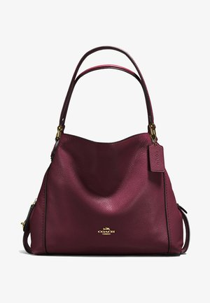 EDIE SHOULDER BAG - Handtasche - oxblood