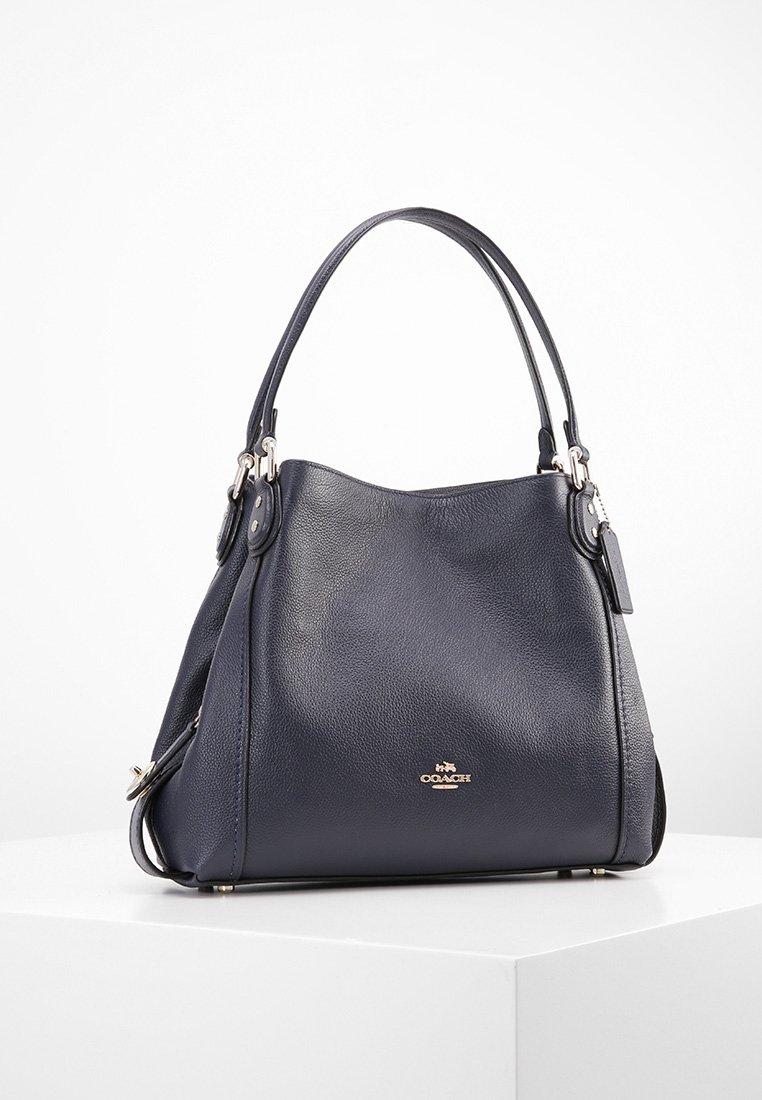 Coach - EDIE SHOULDER BAG - Handtasche - dark blue