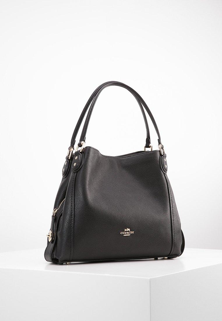 Coach - EDIE SHOULDER BAG - Handbag - black