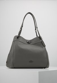 Coach - POLISHED TURNLOCK EDIE  - Håndveske - heather grey - 0