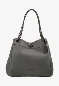 Coach - POLISHED TURNLOCK EDIE  - Håndveske - heather grey - 5