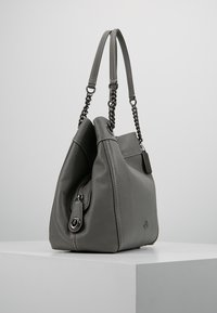 Coach - POLISHED TURNLOCK EDIE  - Håndveske - heather grey - 3