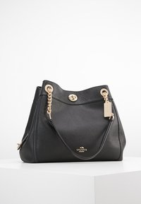 Coach - POLISHED TURNLOCK EDIE  - Kabelka - black - 0
