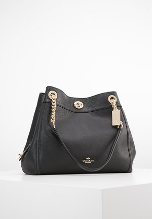 POLISHED TURNLOCK EDIE  - Sac à main - black