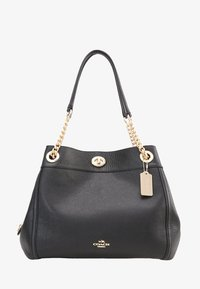 Coach - POLISHED TURNLOCK EDIE  - Kabelka - black - 5