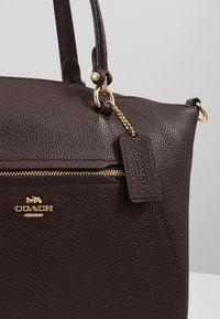 Coach - PRAIRIE SATCHEL - Handbag - oxblood - 6