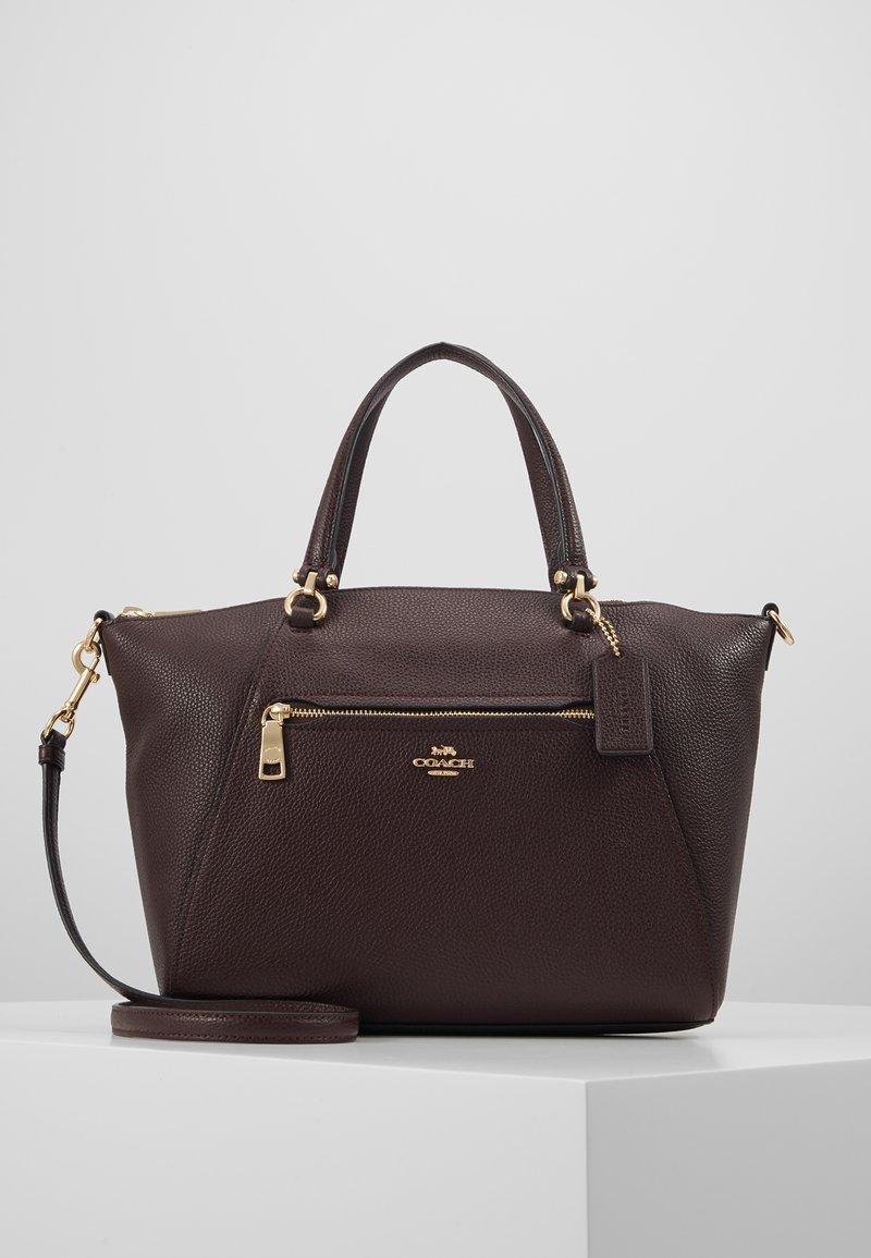 Coach - PRAIRIE SATCHEL - Handbag - oxblood