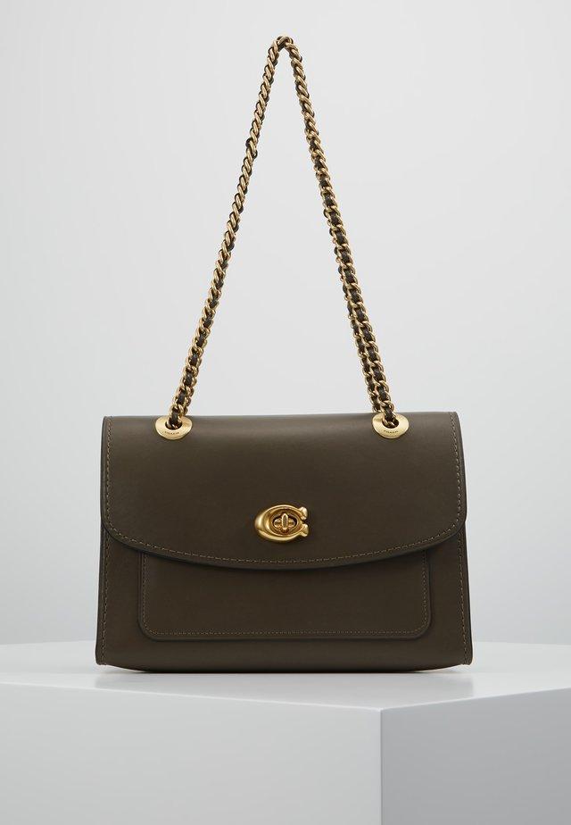 PARKER SHOULDER BAG - Handtasche - moss