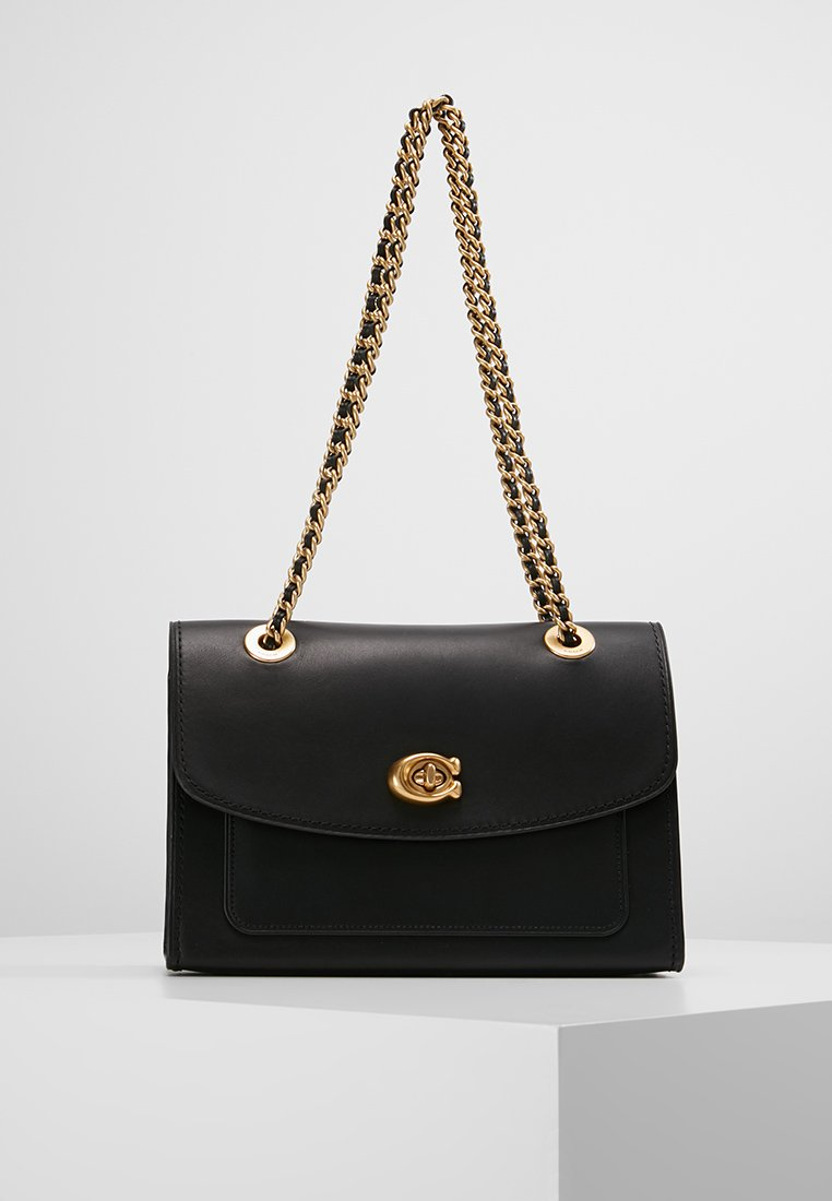 Coach - PARKER SHOULDER BAG - Torebka - ol/black