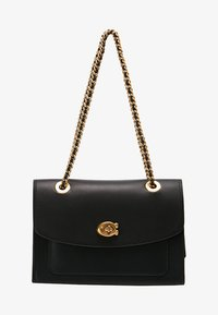 Coach - PARKER SHOULDER BAG - Torebka - ol/black - 5