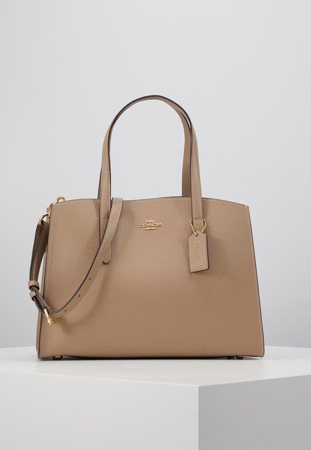 CHARLIE CARRYALL - Handbag - stone