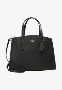 Coach - CHARLIE CARRYALL - Handbag - black - 5