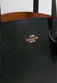 Coach - CHARLIE CARRYALL - Handbag - black - 6