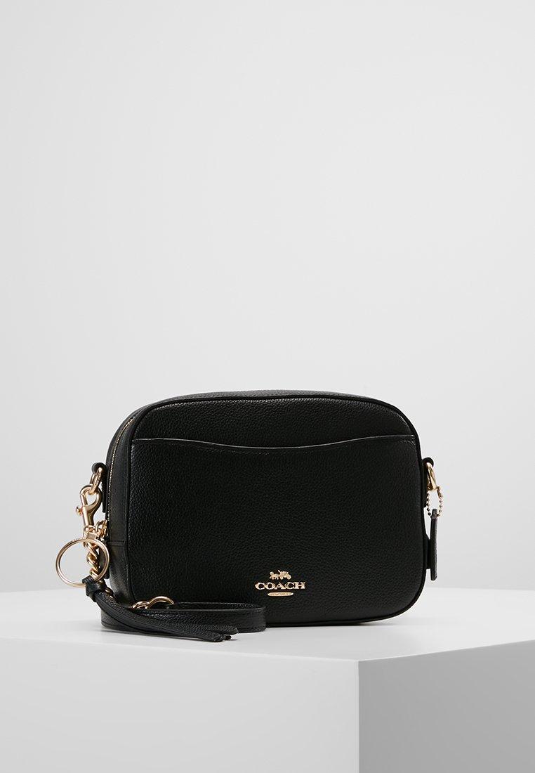 Coach - CAMERA BAG - Taška spříčným popruhem - black