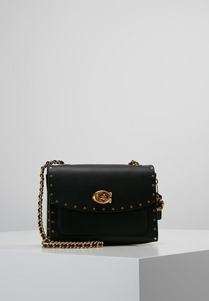 PARKER SHOULDER BAG - Torba na ramię - black