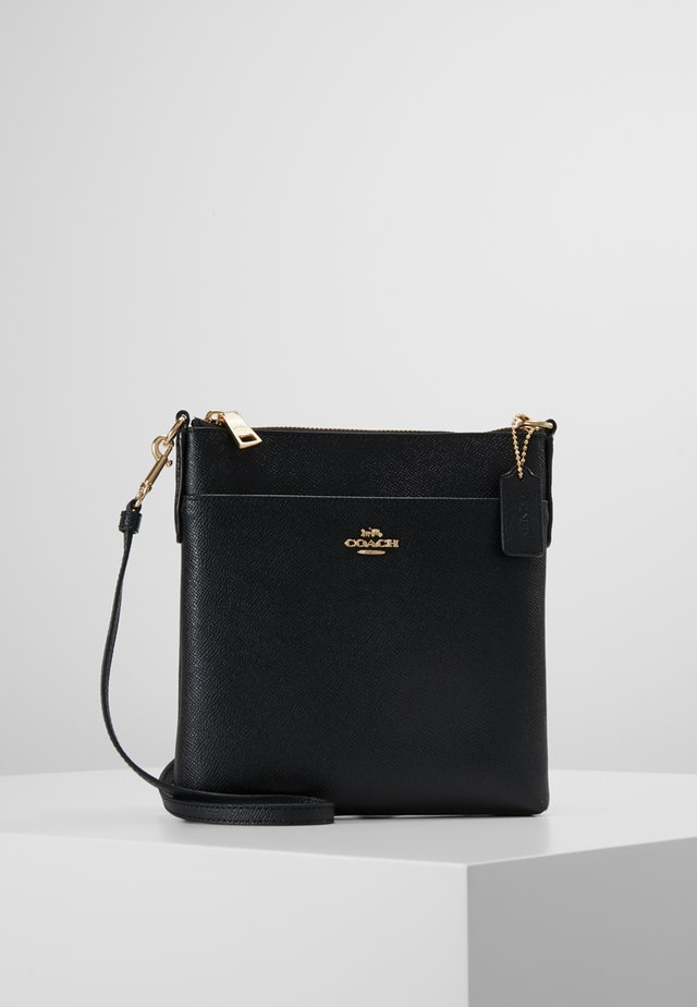 CROSSBODY - Axelremsväska - gold/black