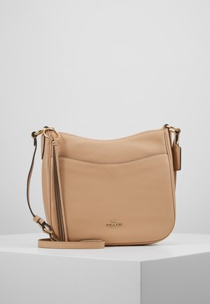 POLISHED CHAISE CROSSBODY - Torba na ramię - beechwood