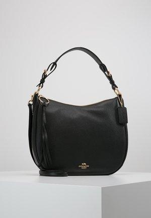 POLISHED SUTTON - Handtasche - gold/black